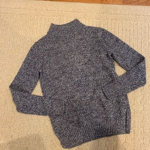 Old Navy Blue Mock Neck Sweater Size XS